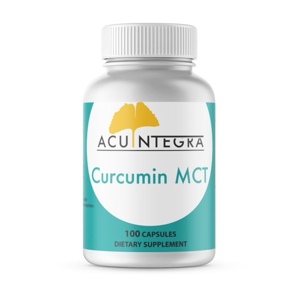 AcuIntegra Curcumin MCT (Turmeric root extract with superior bioavailability)