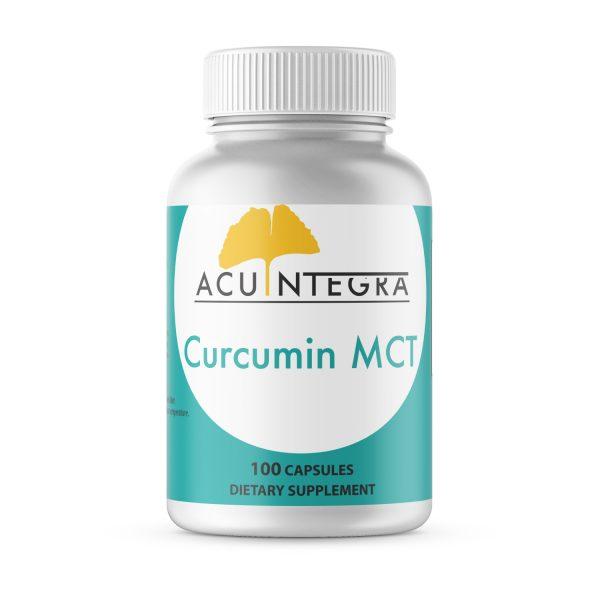 AcuIntegra Curcumin MCT (Turmeric root extract with superior bioavailability)
