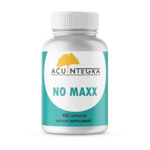 AcuIntegra's NO MAXX™ cardiovascular support formula