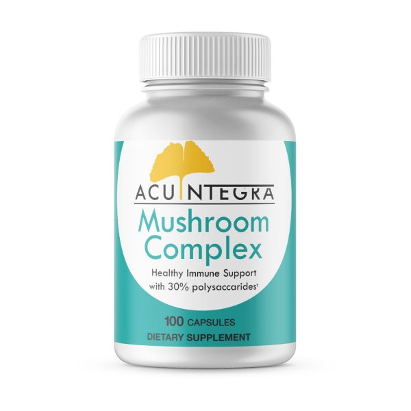 AcuIntegra Mushroom Complex™ - Turkey Tail, Maitake, Reishi, Shiitake Dietary Supplement