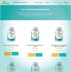 AcuIntegra.com - New Webshop